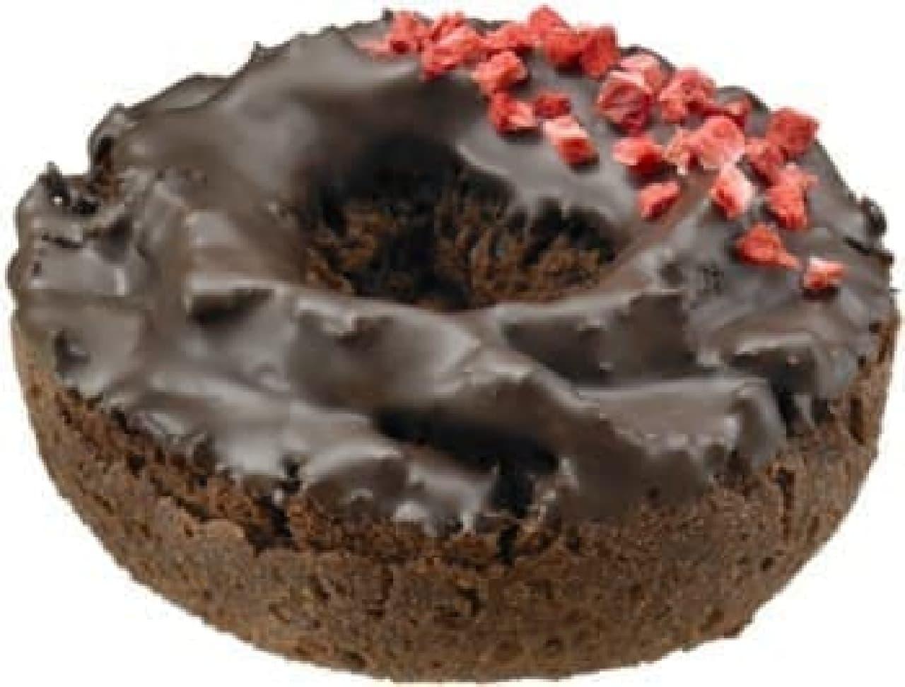 ダズン限定「チョコレート ケーキ&ストロベリー」