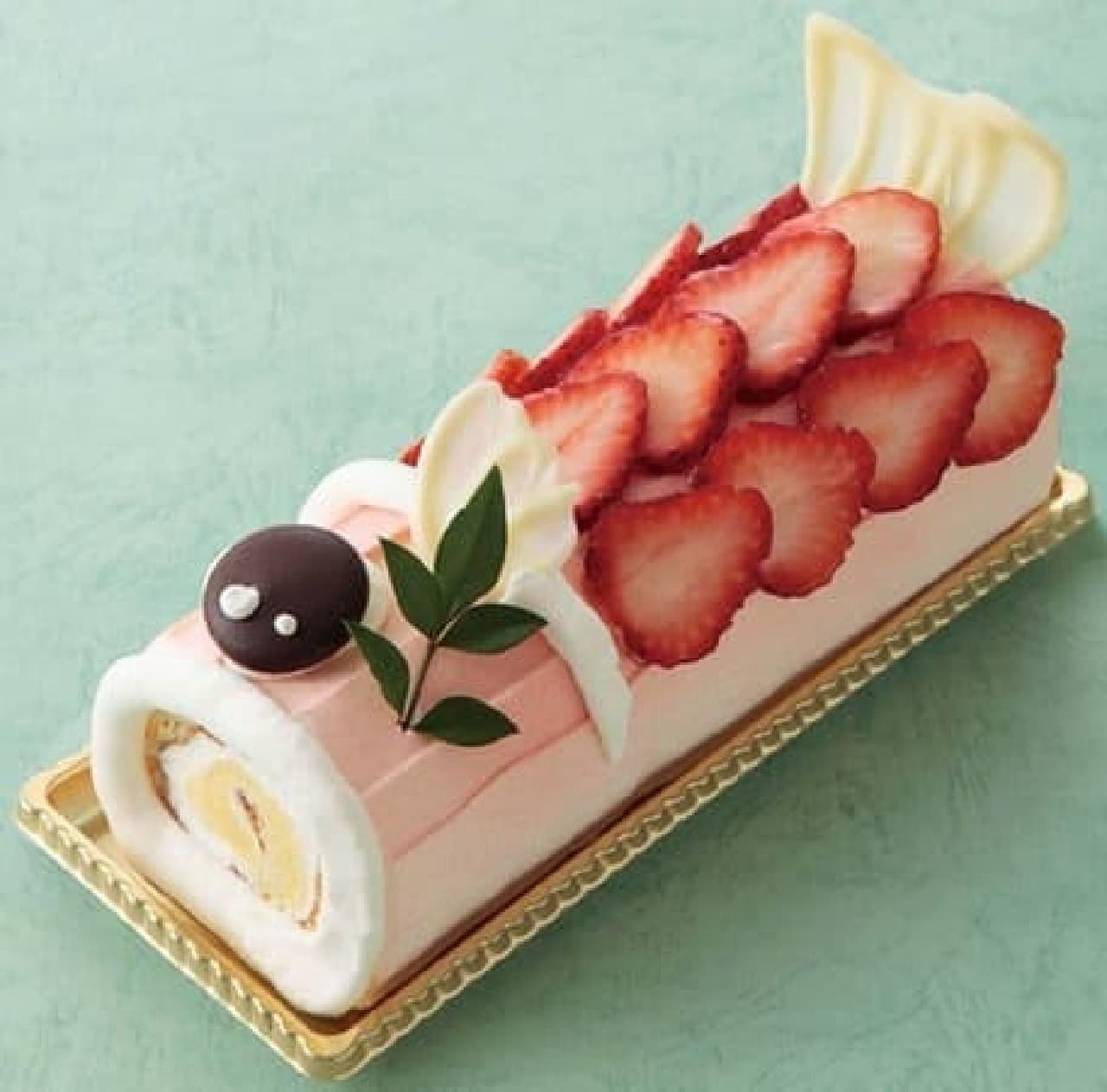 新阪急ホテルの「こいのぼりロール」