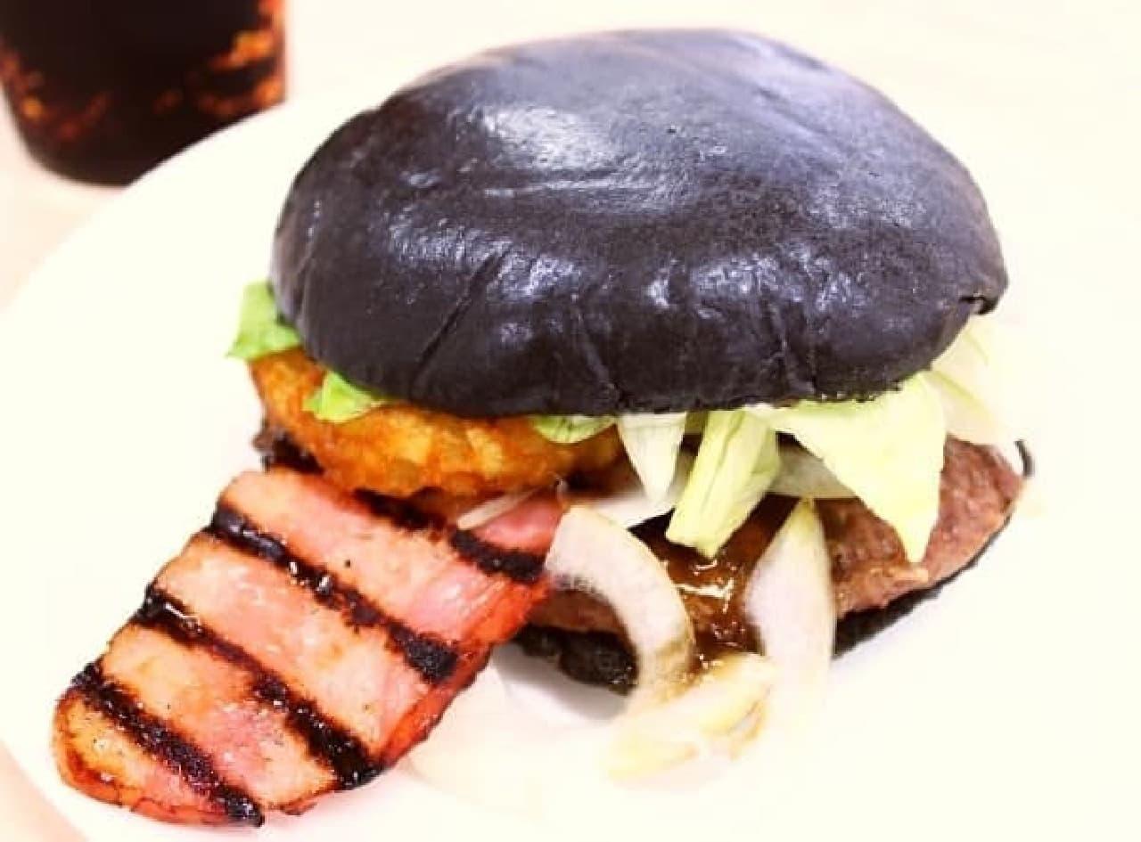 ハンバーガーが「あっかんべー」してるって本当...?