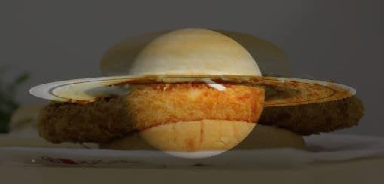 土星に似ているなって。