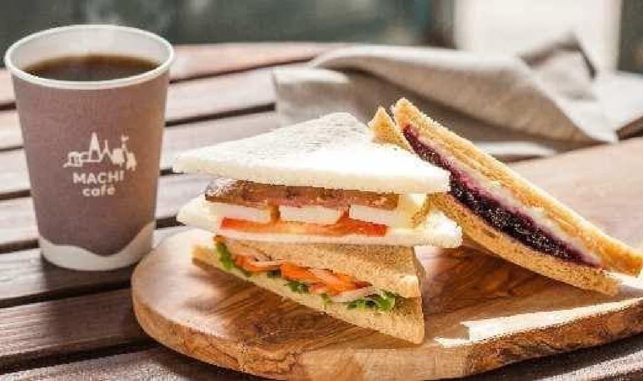 サンドイッチで「フルコース」が楽しめる?