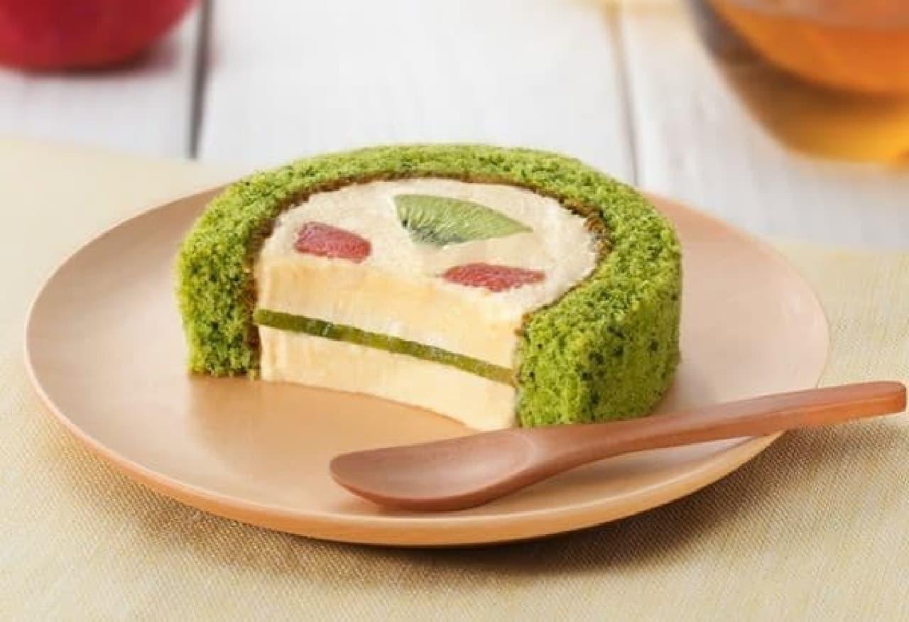 グリーンスムージーがケーキになったぞ!