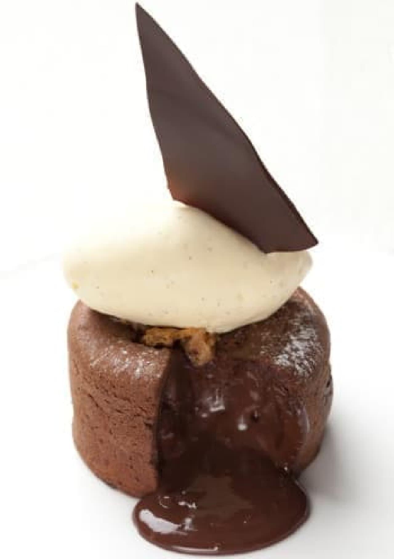 チョコレートがとろけ出す「フォンダン・オ・ショコラ」