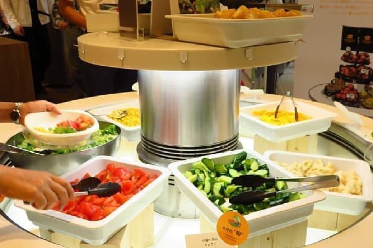 日本マイクロソフトの社員食堂が日本野菜ソムリエ協会の認定レストランに