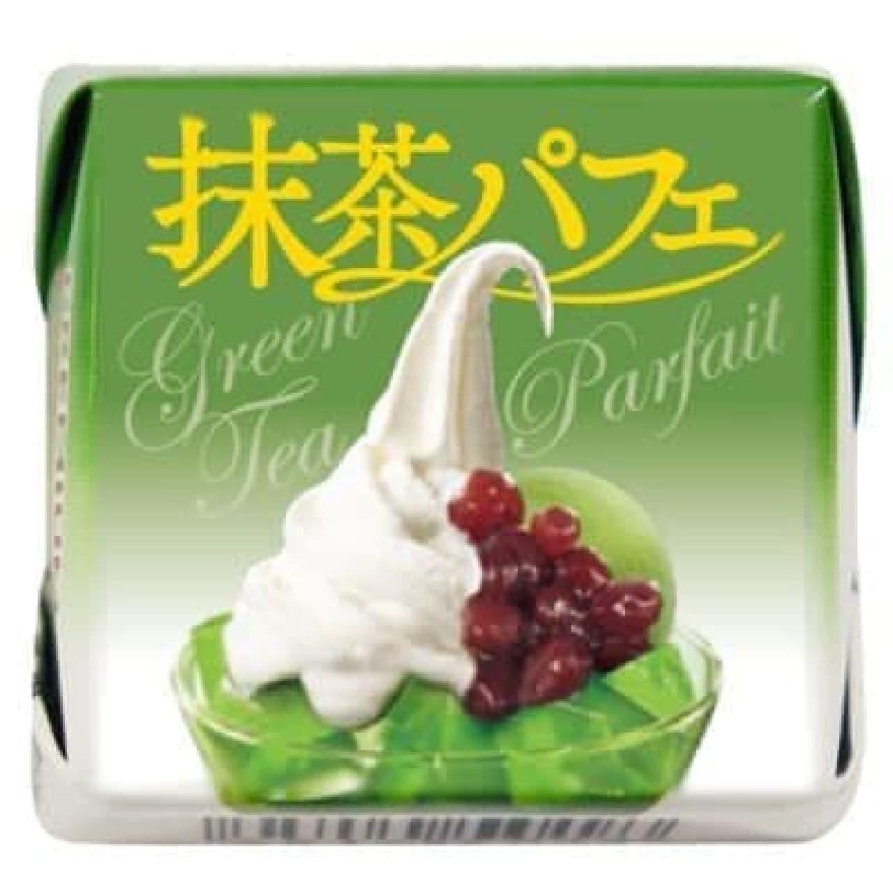 冷やして食べたい!「チロルチョコ〈抹茶パフェ〉」