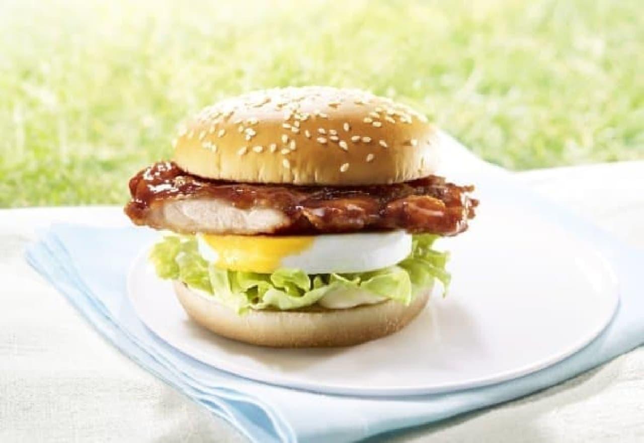 春の「てりたま」シリーズ初のチキンバーガー、「チキンてりたま」が登場!
