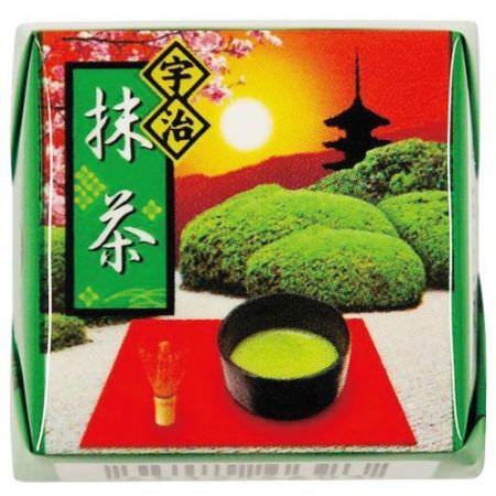 「チロルチョコ〈宇治抹茶〉」