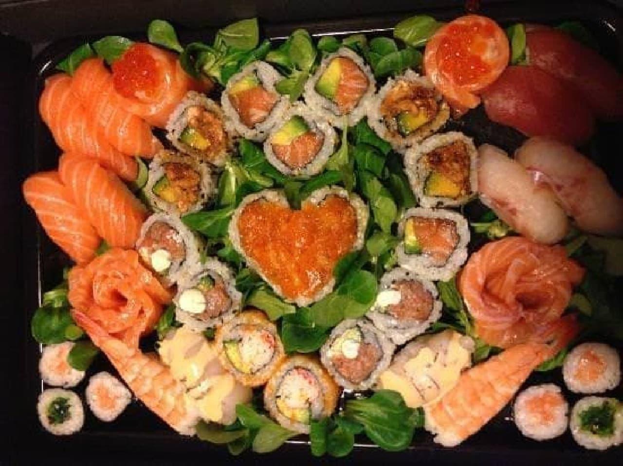 ランキング1位の Jorudan Sushi の料理写真(出典:トリップアドバイザー)