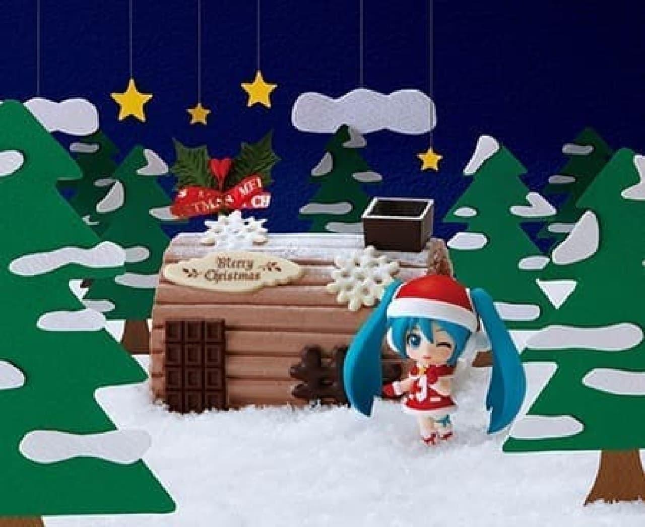ミクさんとコラボのクリスマスケーキ、今年も!  Design by SEGA  (c)Crypton Future Media,INC.