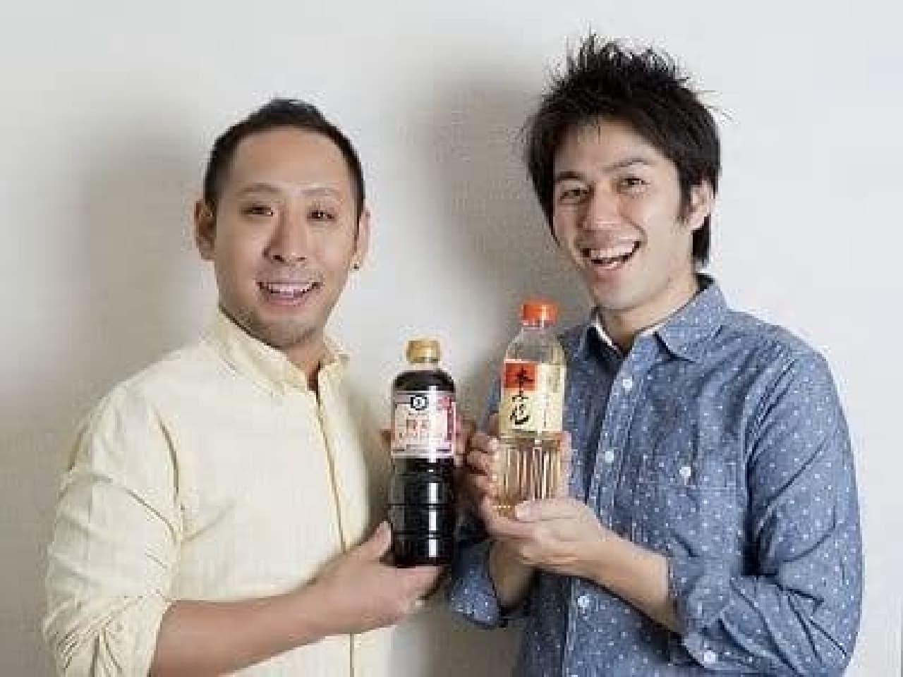 講師の2人  きじまりゅうた先生(左)、本田よう一先生