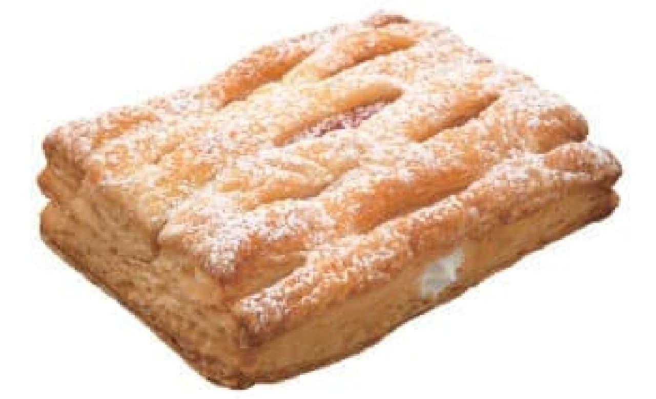 さくさくパイといちごジャムは相性抜群!