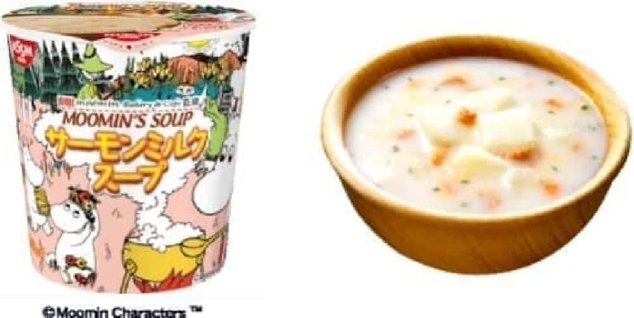 ムーミンの世界観が味わえるスープ!?