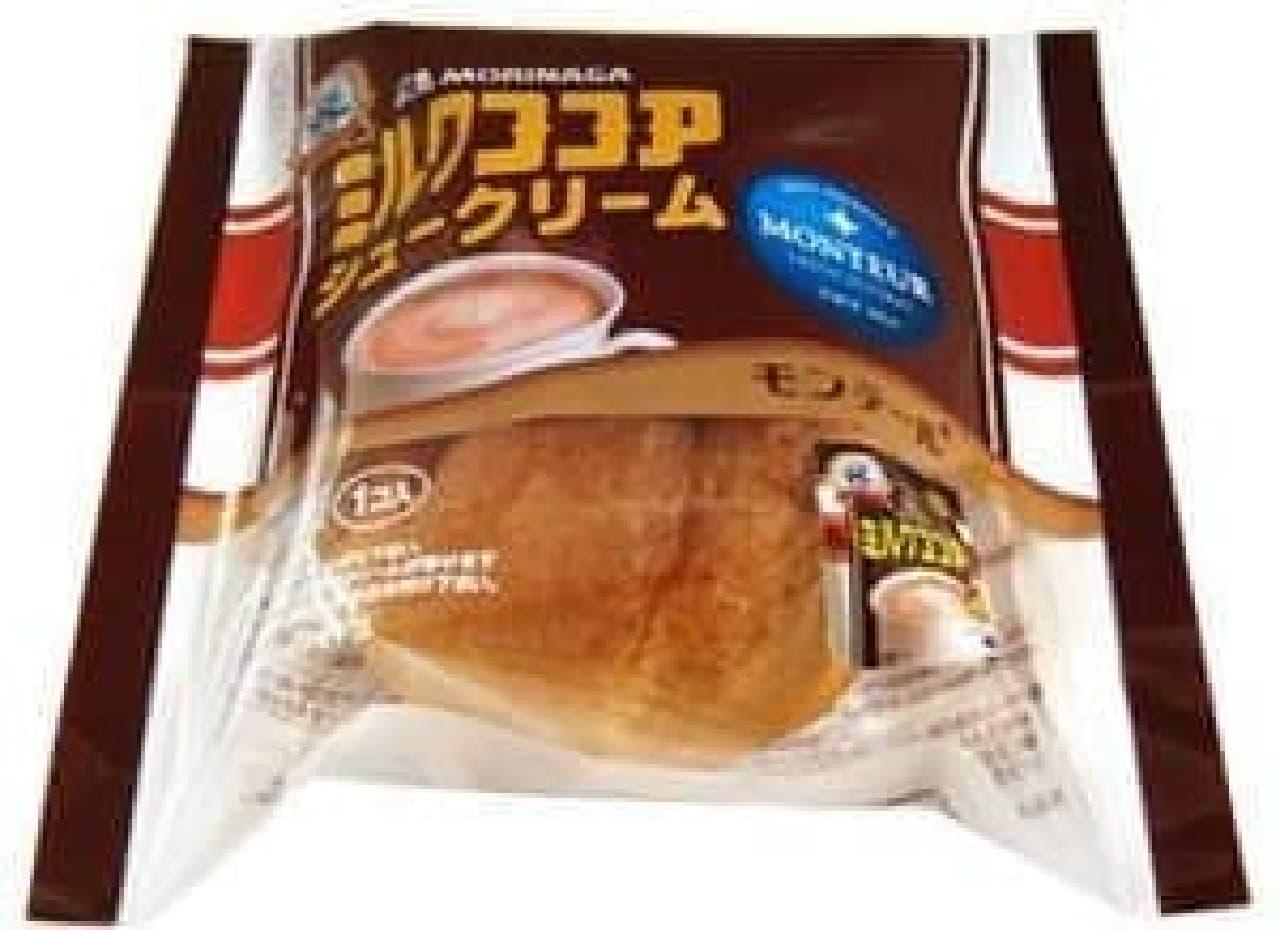 「森永ミルクココア シュークリーム」