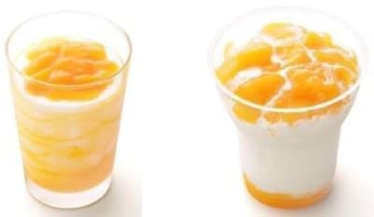 濃厚なマンゴーの味わいを楽しんで