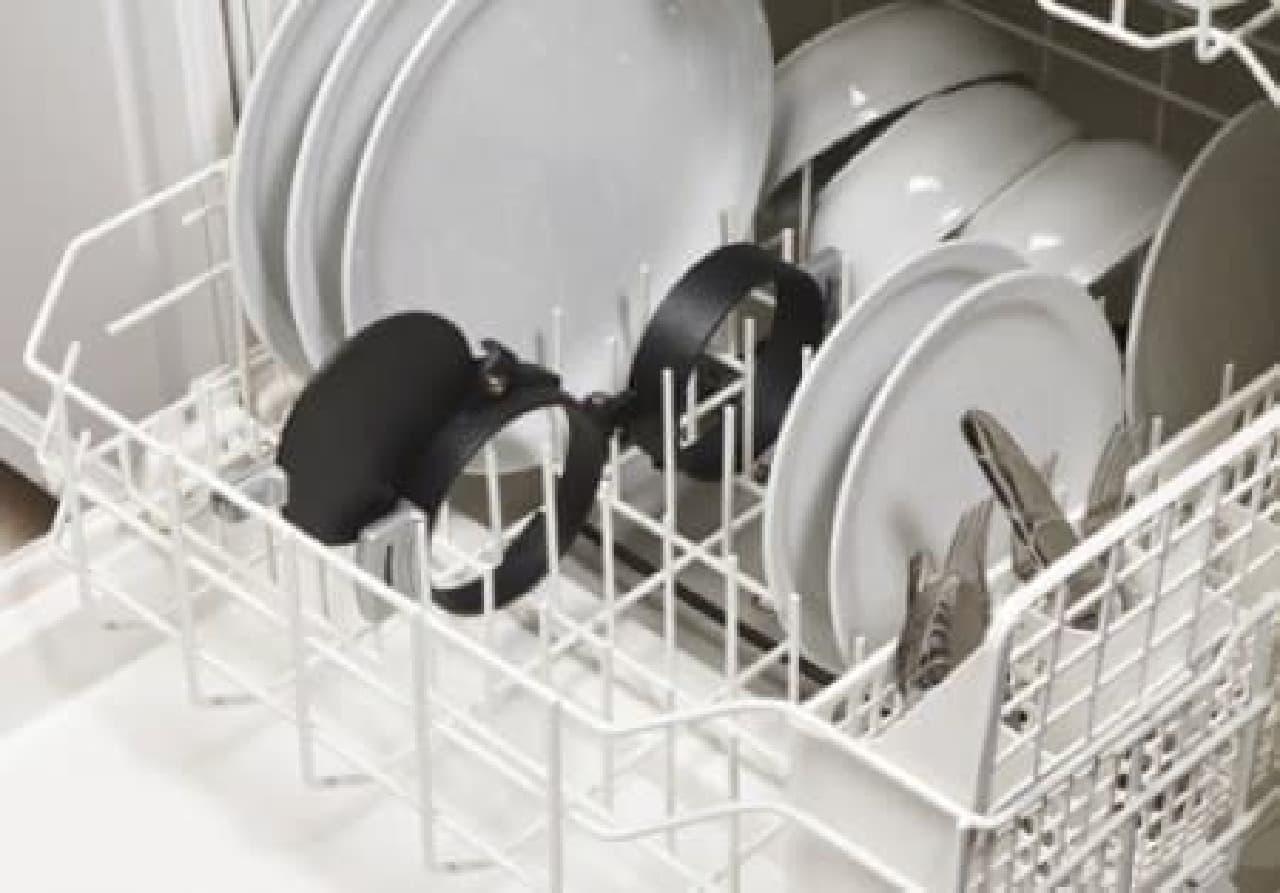 食洗器でまとめて洗っちゃえば楽チン