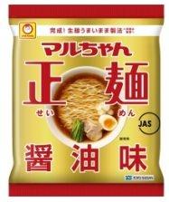 女性へのアンケートで1位に選ばれた「マルちゃん正麺 醤油味」