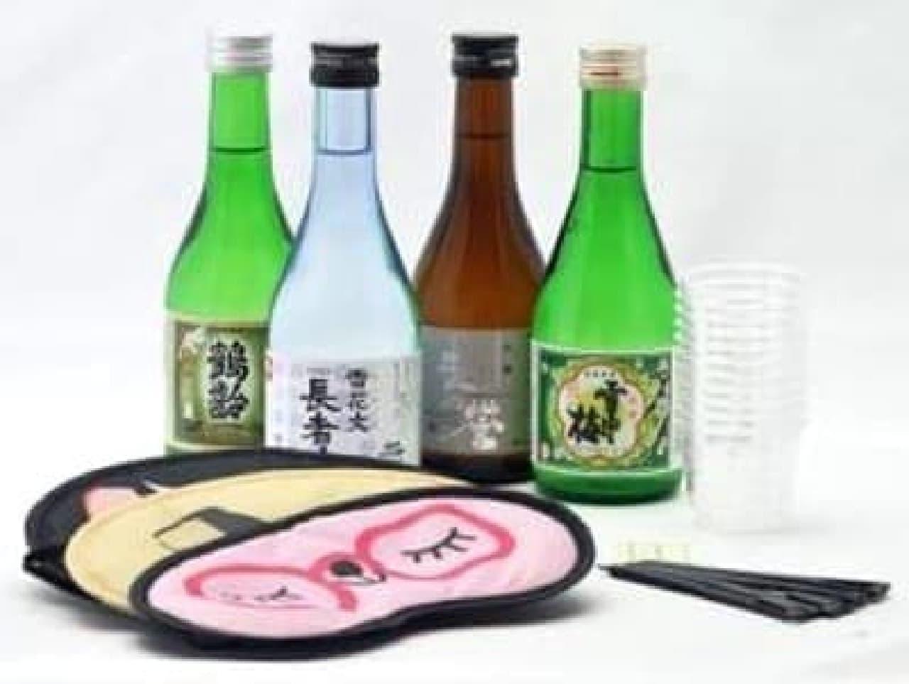 """""""きき酒""""を気軽に楽しめる!"""