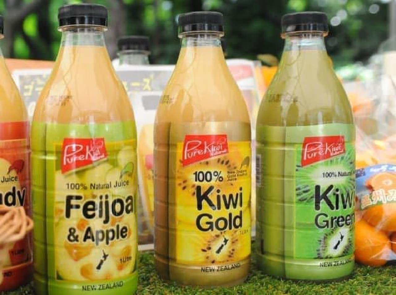 とろみがあって完熟の甘さ!「Kiwi Gold」
