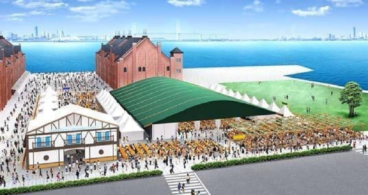 週末は横浜赤レンガ倉庫に集合だ!