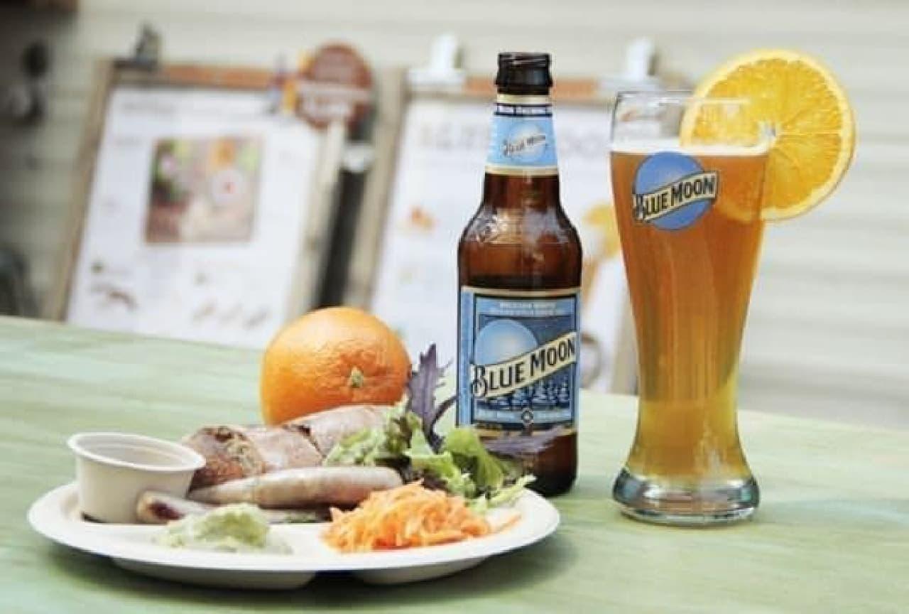 夏の風を感じながらビールを堪能