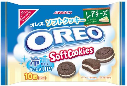 冷やしてもおいしい「オレオソフトクッキー レアチーズ」