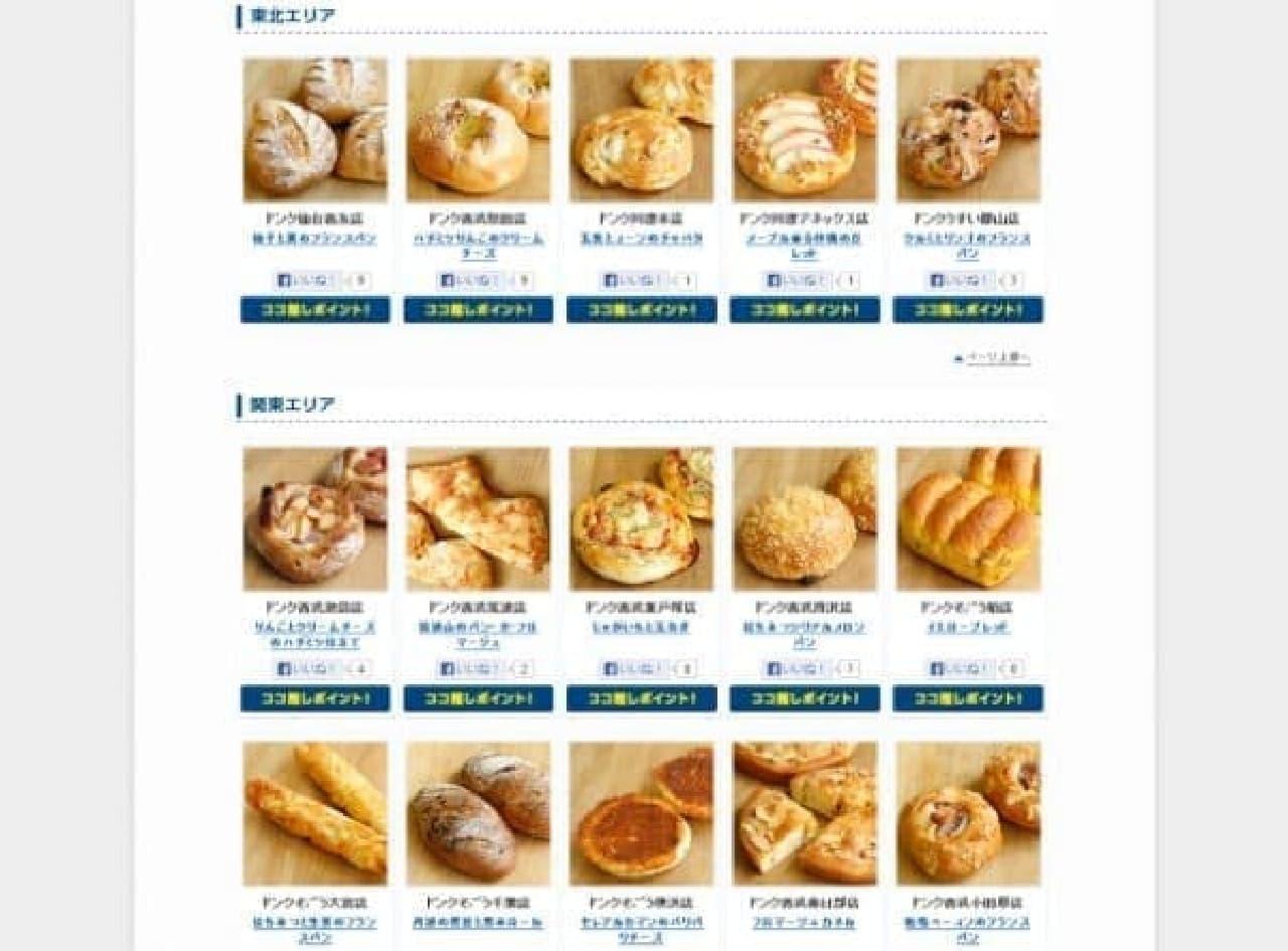 どのパンが気になる?