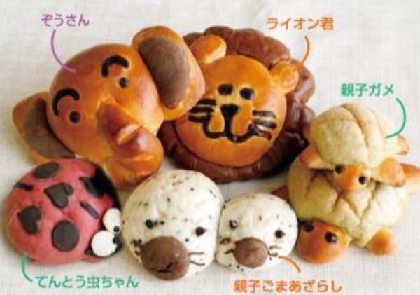 神戸エリア限定。かめやアザラシの親子パンも