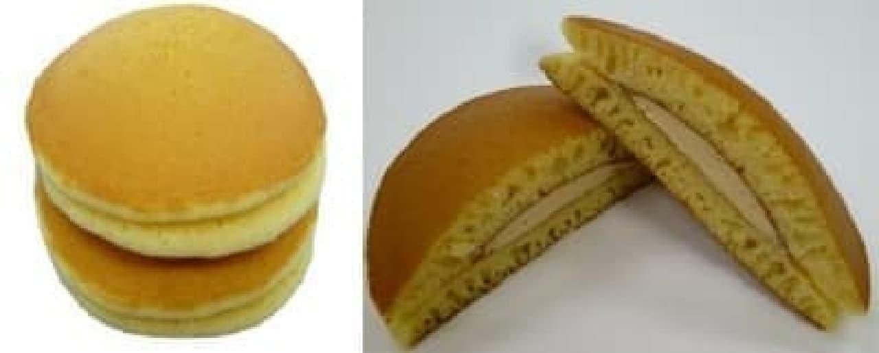 """""""もちっ"""" とした食感が特徴のパンケーキ"""