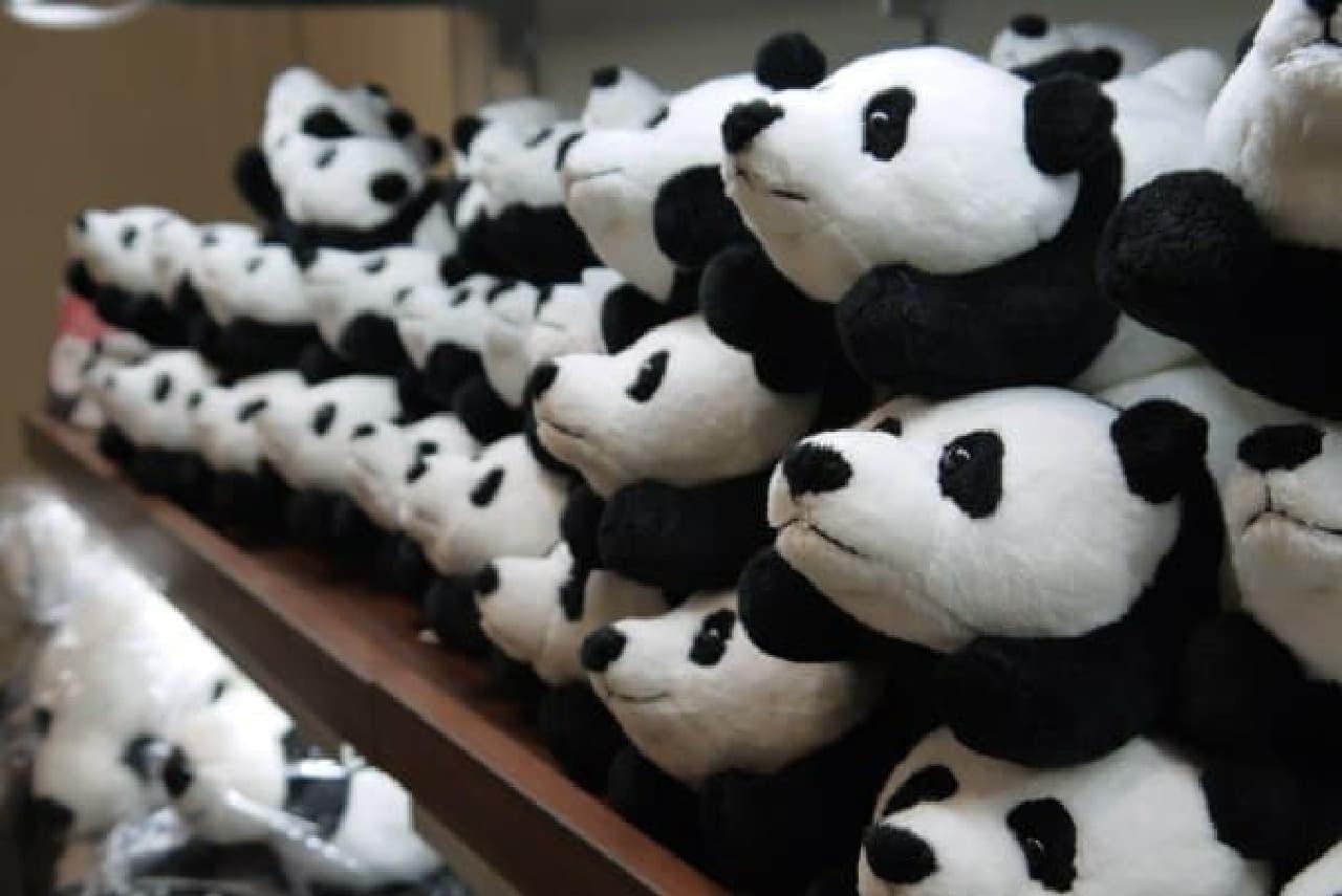 あ、パンダ。中華街っぽい