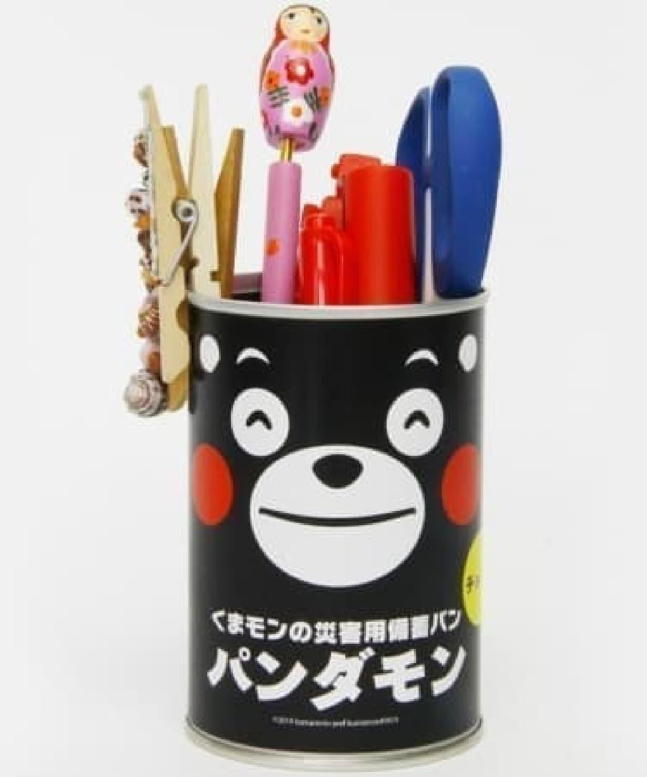 空き缶はペン立てにしてもいいね!