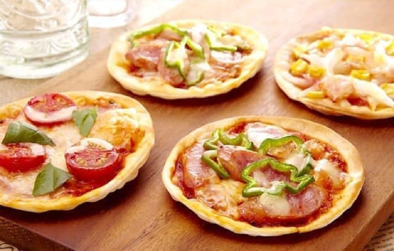 手軽にオリジナルピザを手作り!