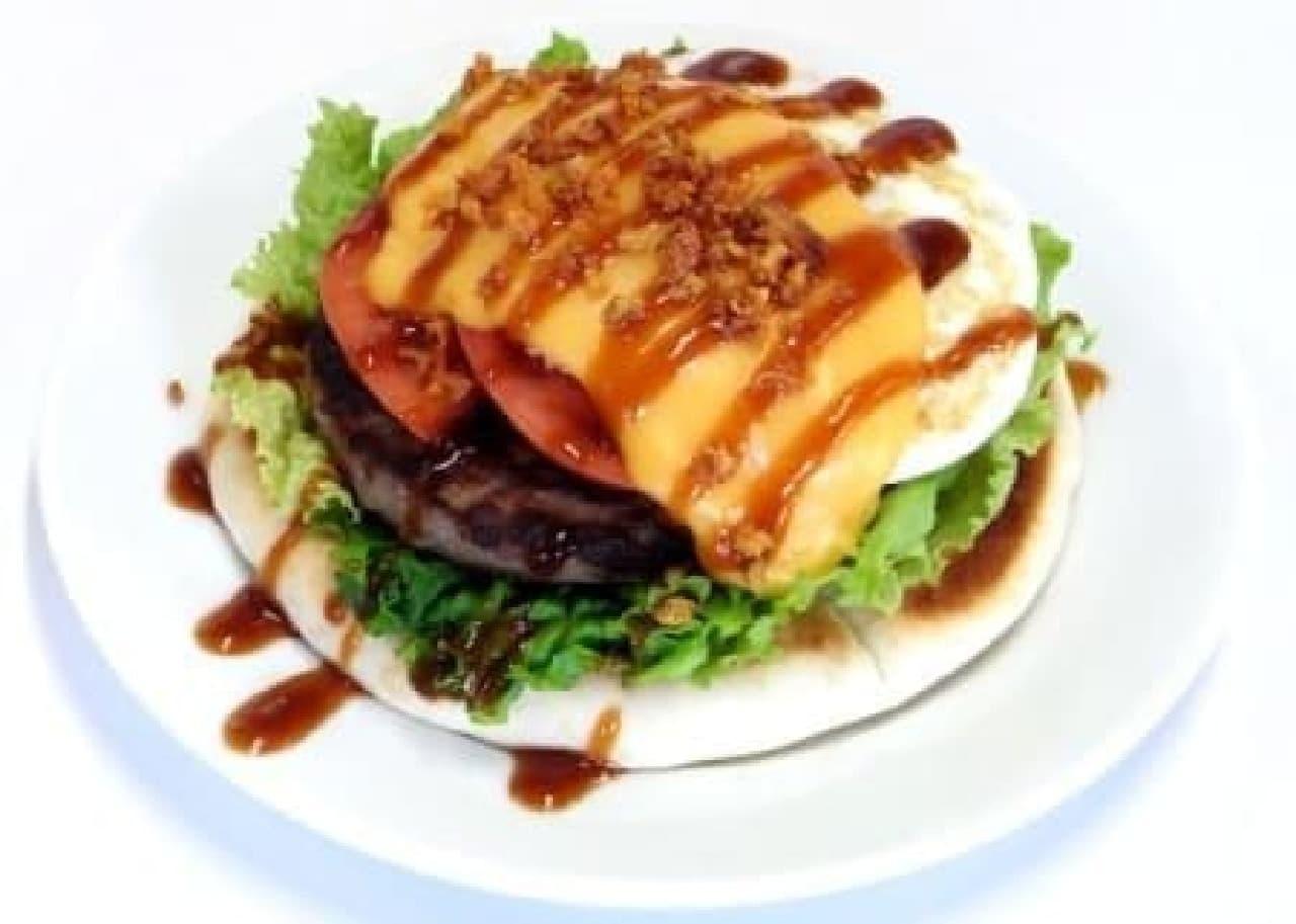 ナイフとフォークで食べるハンバーガー!?