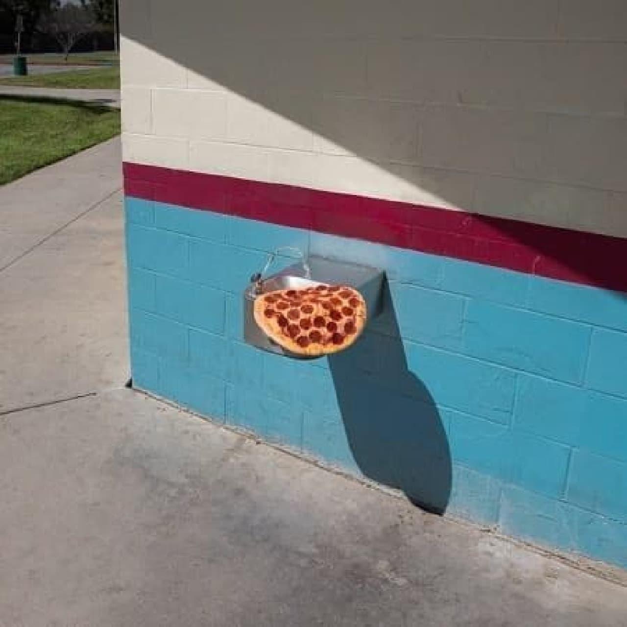 ピザですね