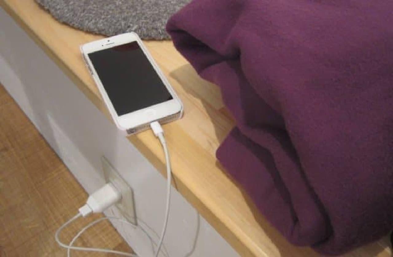 Wi-Fi や充電器などのサービスも充実