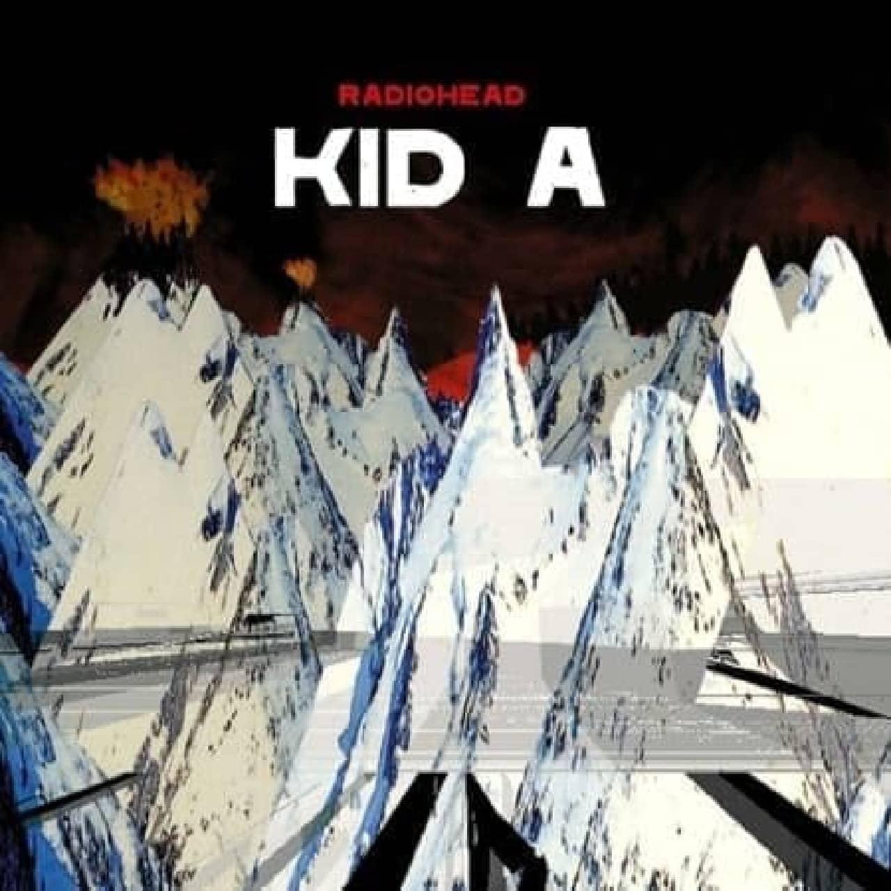 Radiohead アルバム「Kid A」  (出典:Radiohead 公式サイト)