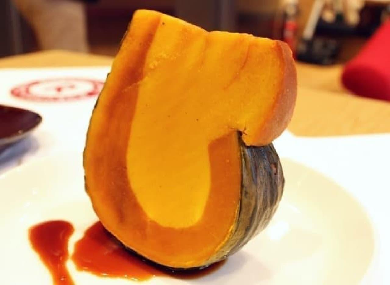 ほっくり甘いかぼちゃをとことん味わえる