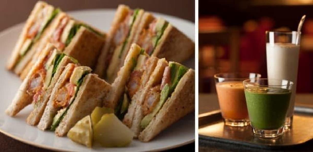サンドイッチやスムージーなどメニューが一新!