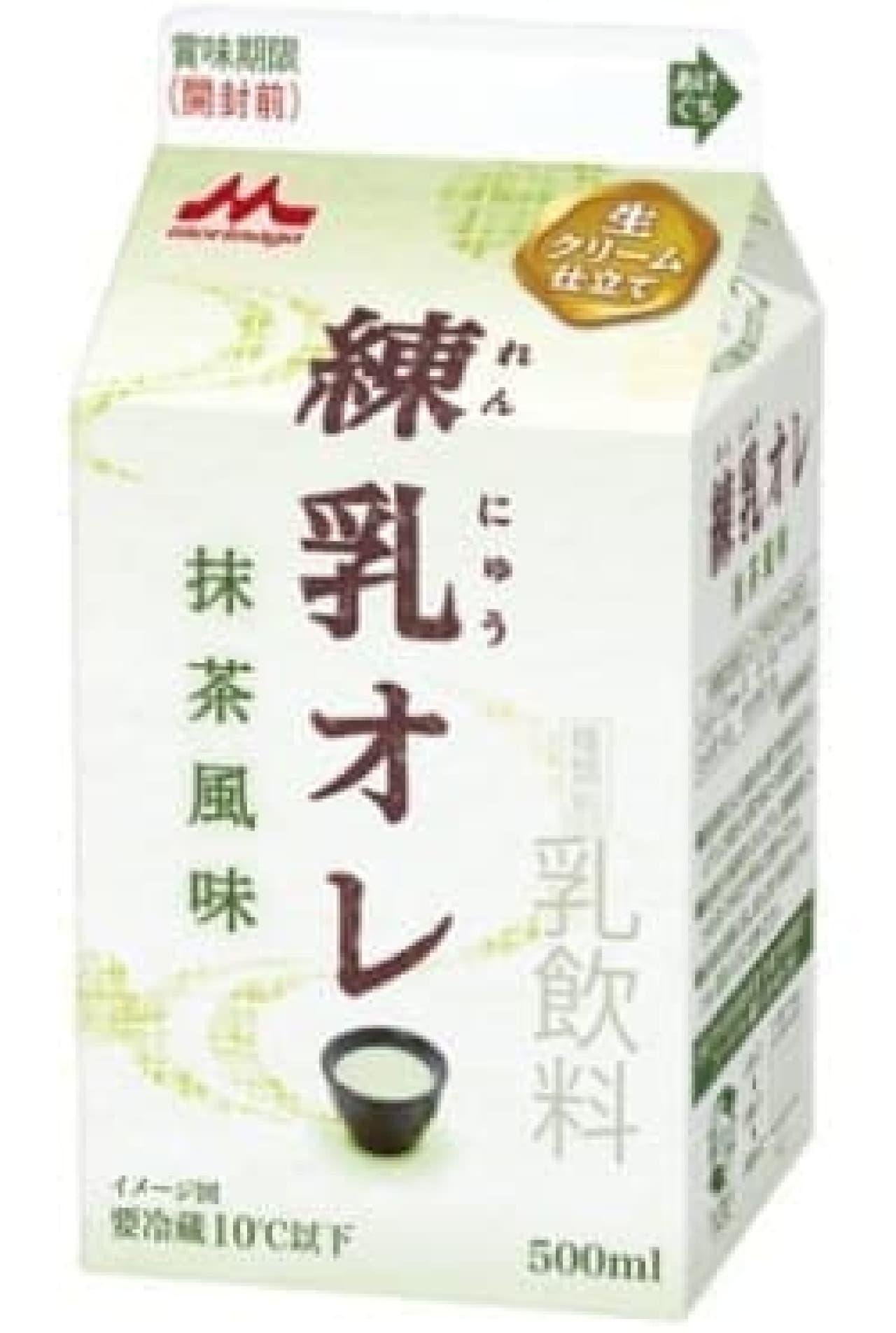 """カキ氷にもあるよね!""""練乳×抹茶"""""""