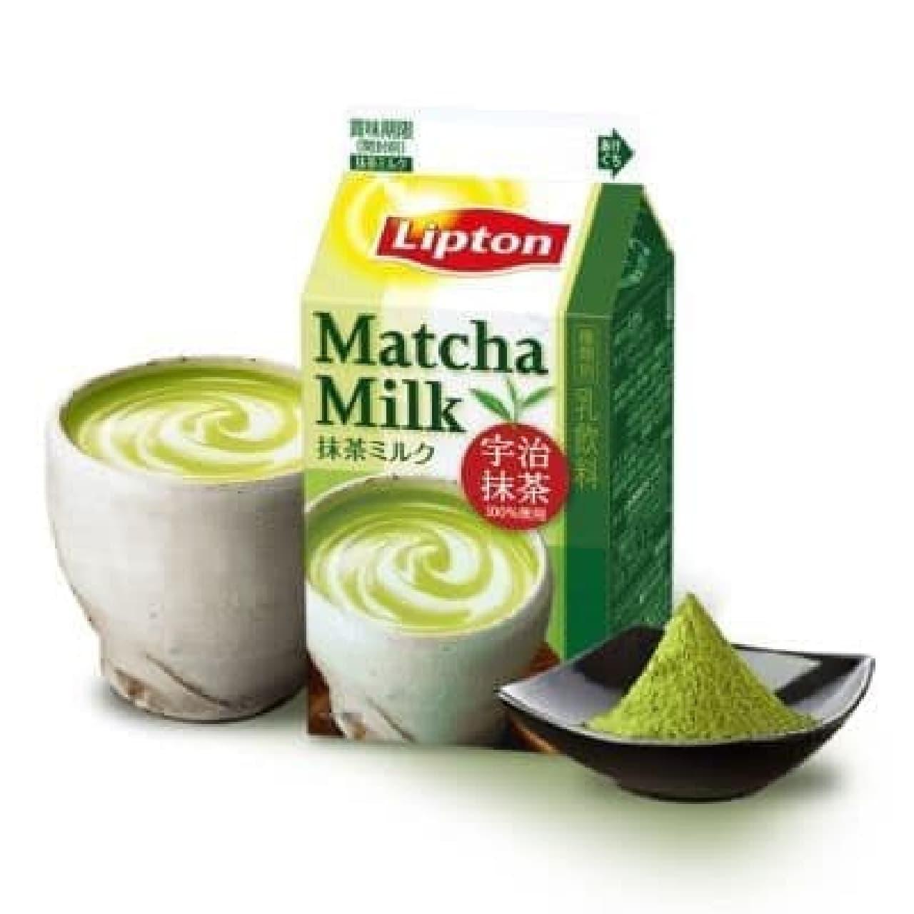 リプトン 抹茶ミルク