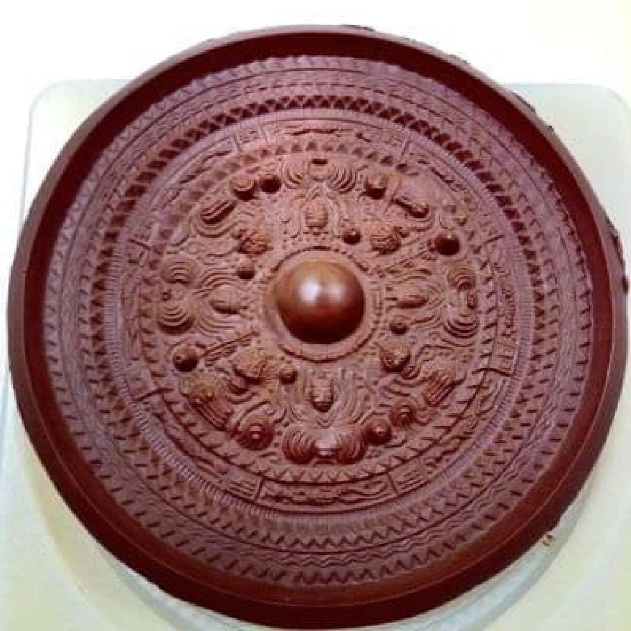 古代の神と獣とを描いた…チョコ