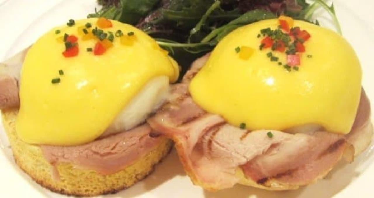 朝食の女王・サラベスの「クラシック エッグベネディクト」