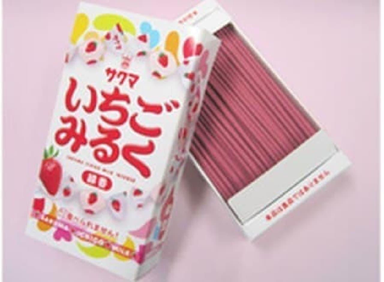 「いちごみるく」の香りが楽しめる線香が発売!