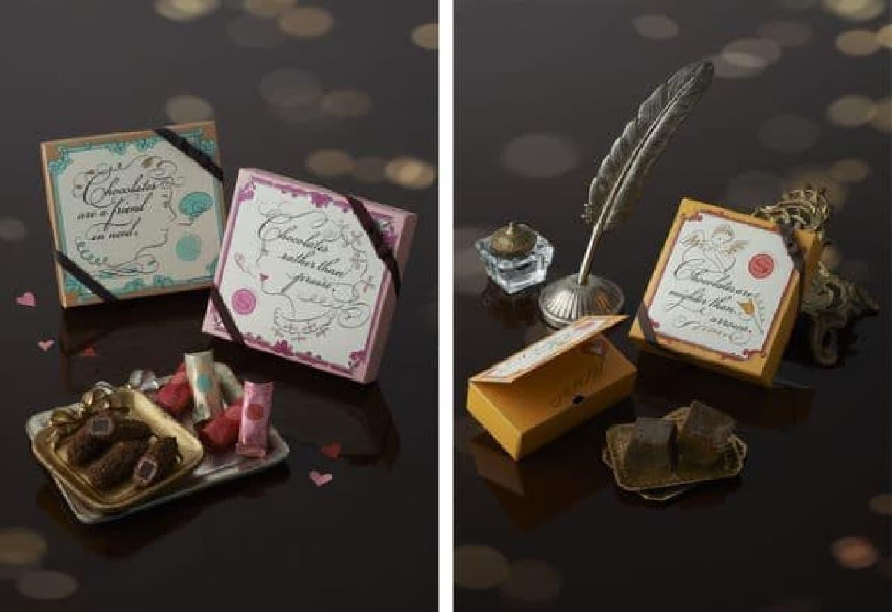 左:ラ・ガナシュ、右:チーズケーキ(ショコラ)
