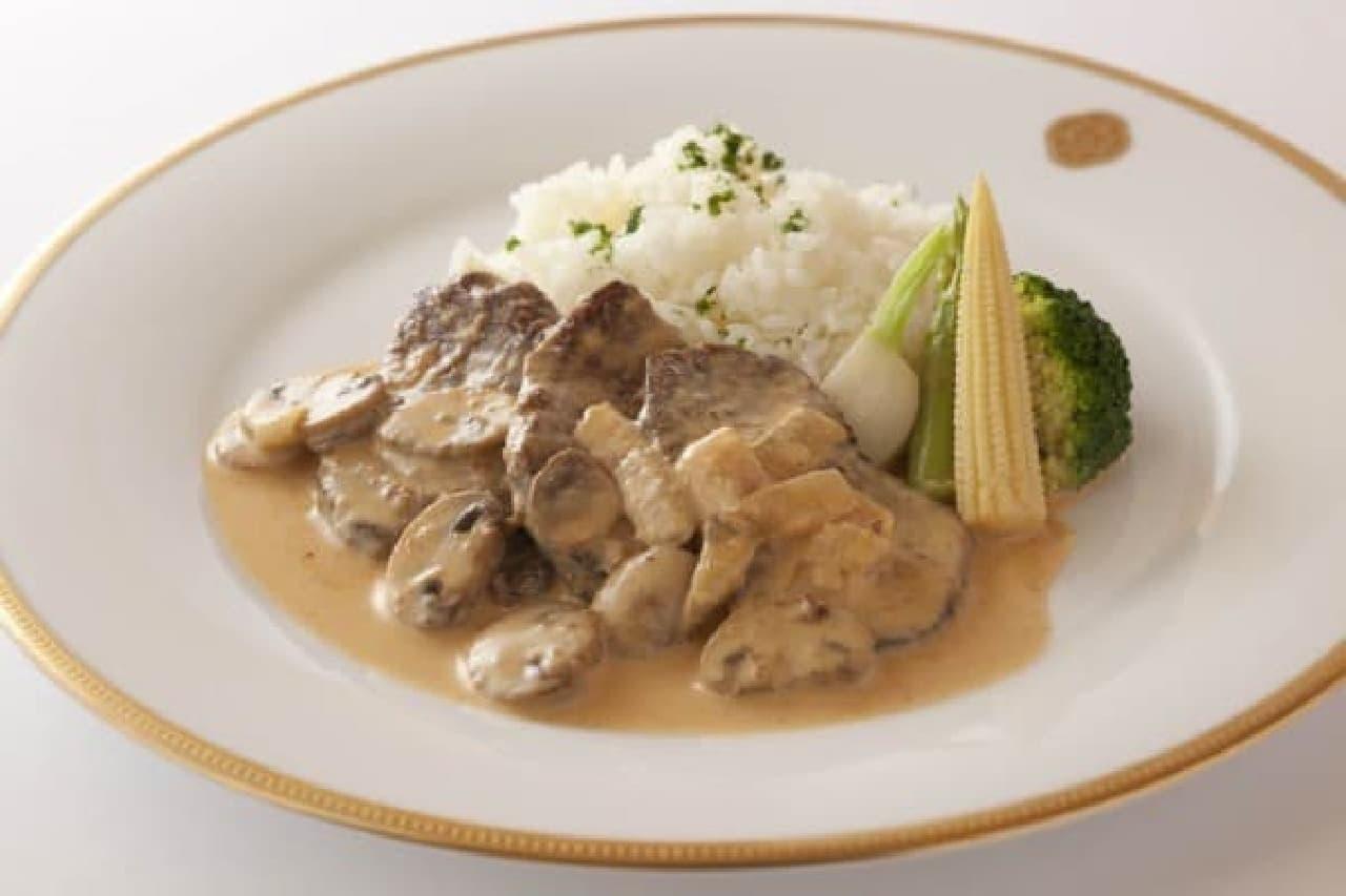 「飛騨牛フィレ肉のソテー」
