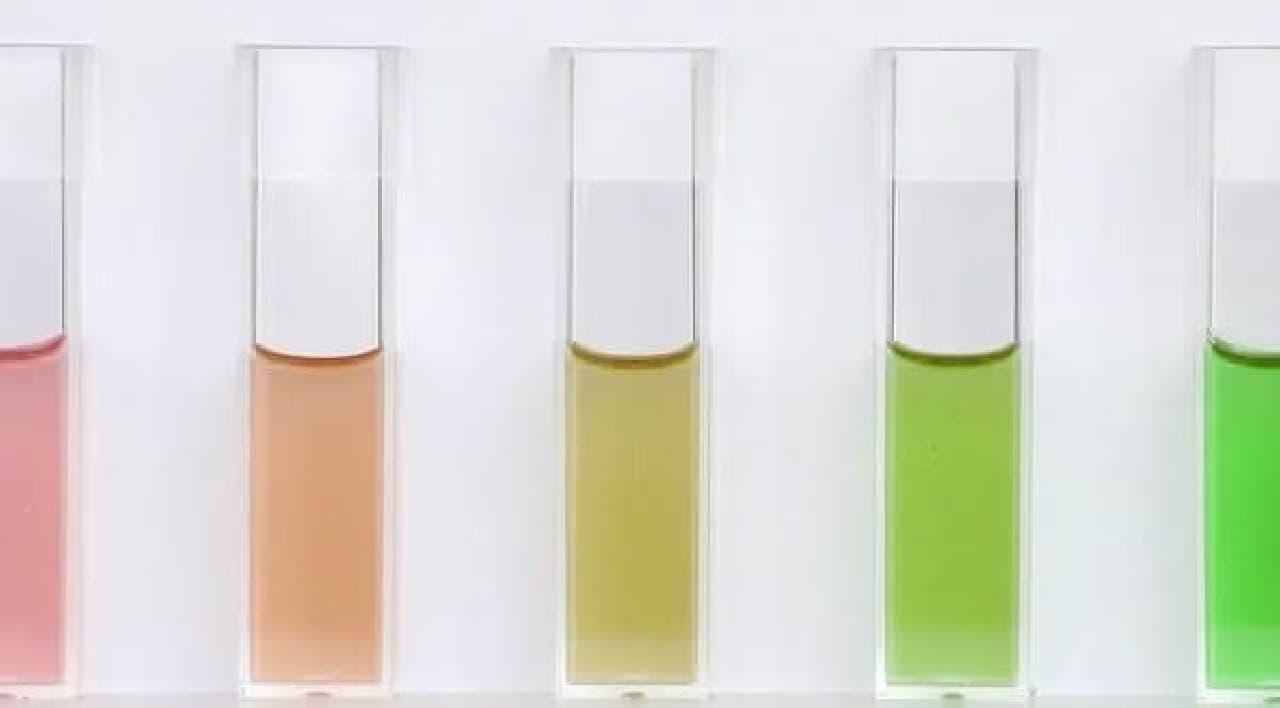 色ごとに賞味期間が約半減していく?