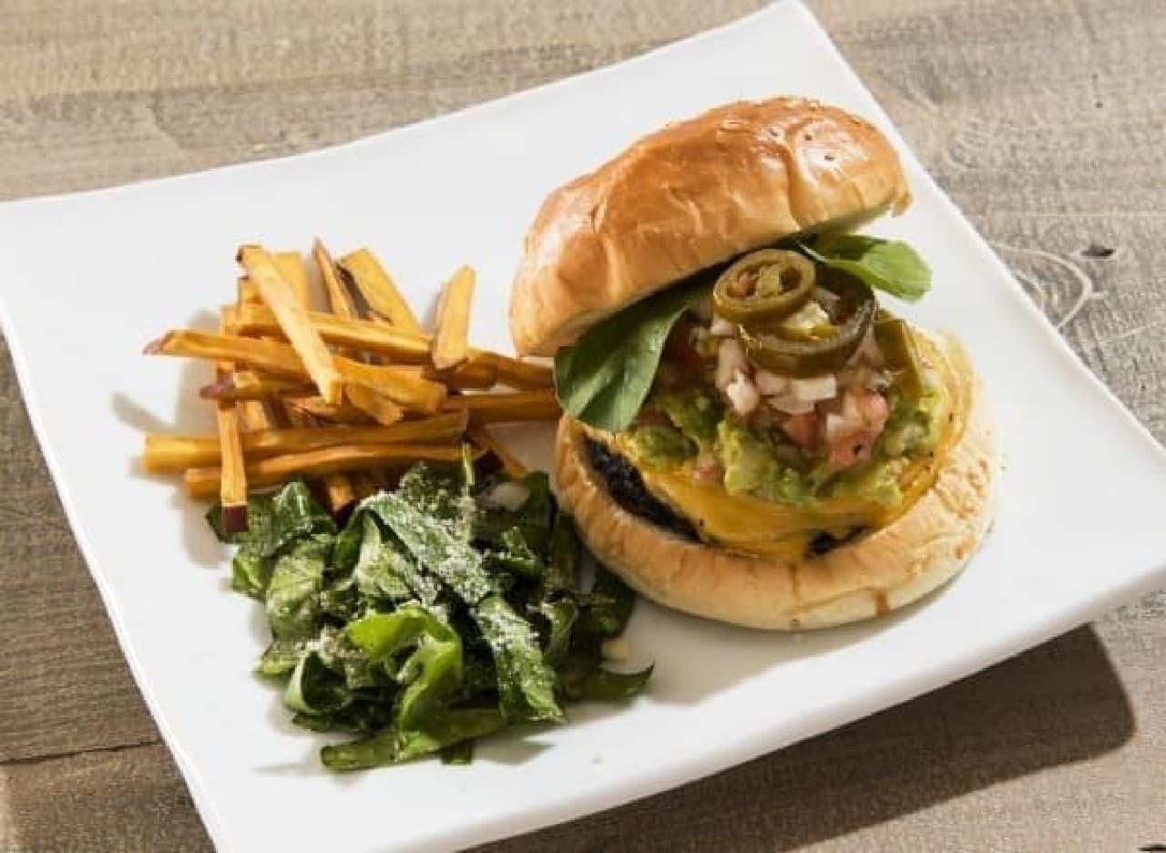 野菜たっぷり!ハンバーガープレート