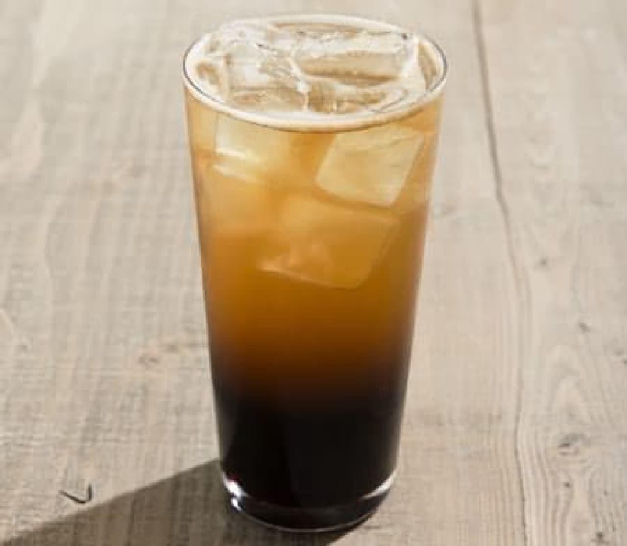 アイスコーヒーのしゅわしゅわバージョン