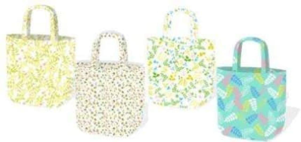 トートバッグは全部で4種類