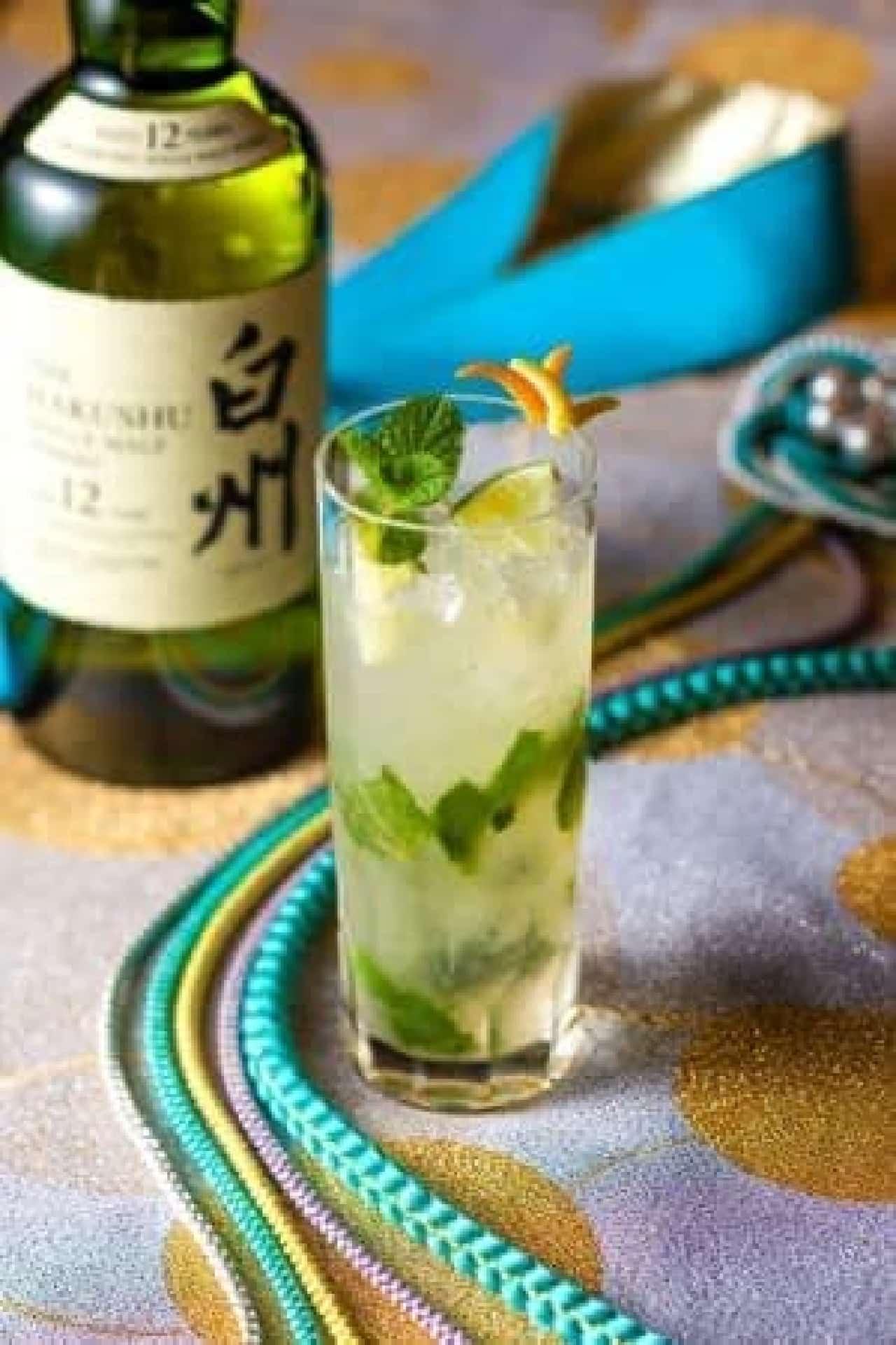 夏カクテル「Citrus DAIBA Mojito ~鴎舞うリゾート~」