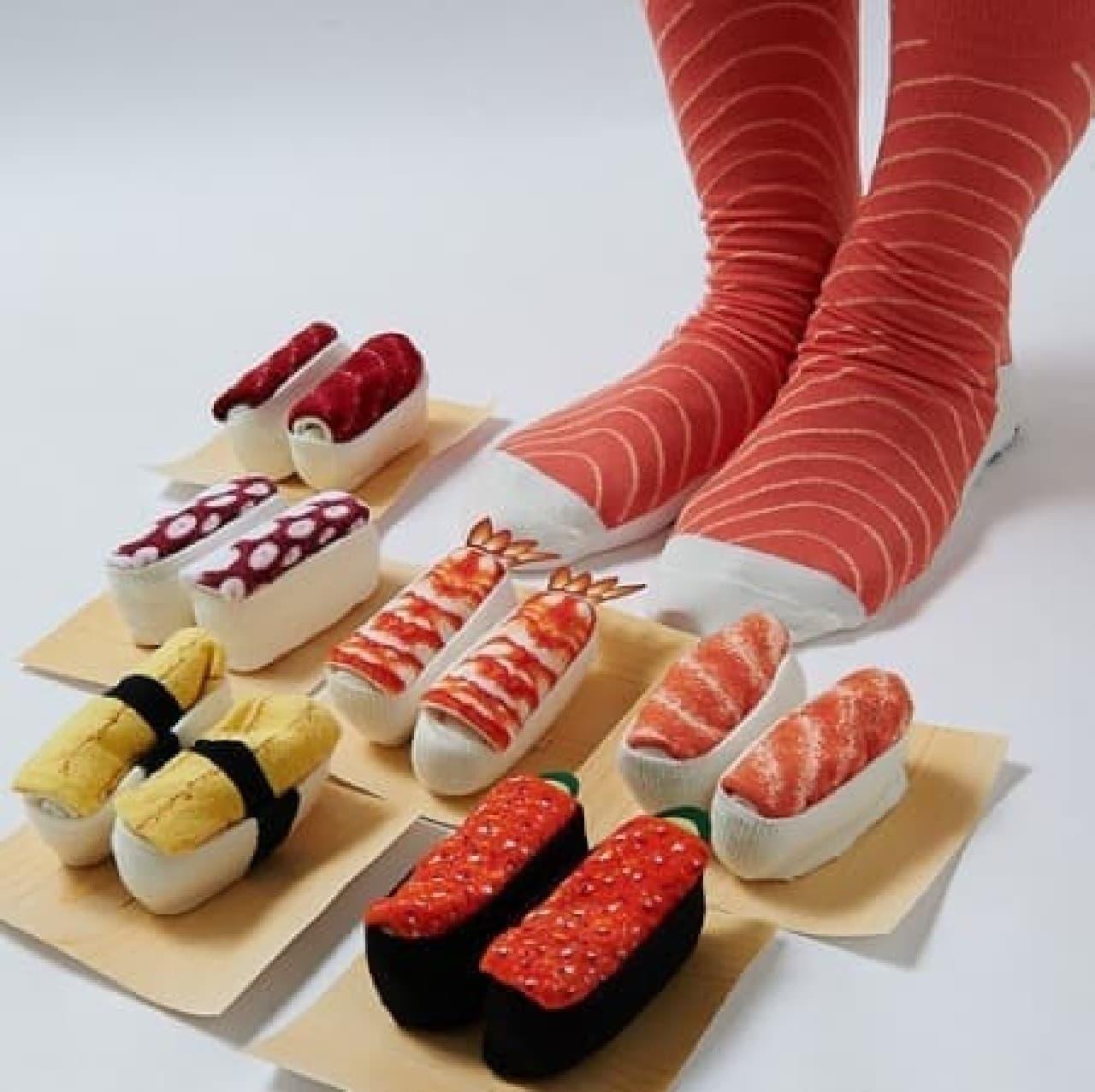 まるで本物のお寿司のよう